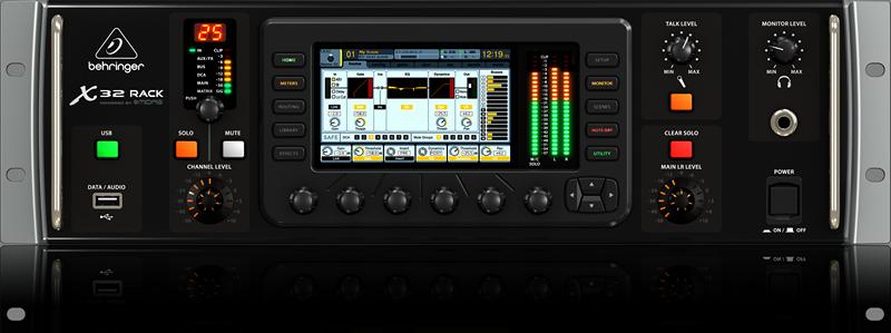 Console de mixage num rique behringer x32 rack - Console numerique behringer ...